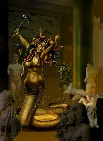 Euryale Greek Mythology Méduse   Mytholog...